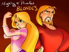 Mighty and Powerful BLONDES by kra on DeviantArt Ahahahahahah