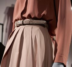 Gorgeous blush tones at the Marks and Spencer Spring/Summer 2015 Press Show