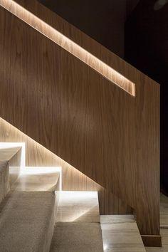 Stairs - Hotel Hilton Barra in Brazil | Galeria da Arquitetura