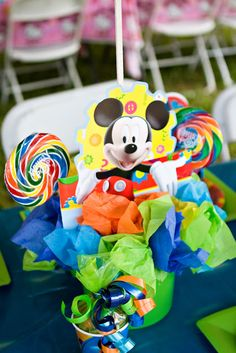 A Mickey Mouse Clubhouse Birthday Party | Magical Day Parties | A Fan Site Celebrating Disney Themed Events