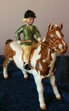 Beswick Girl on a Pony | eBay