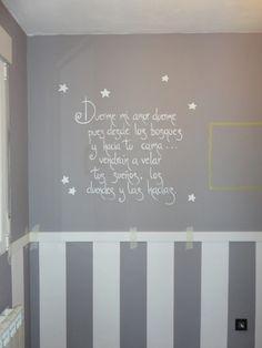 dibujo de ositos en la pared