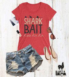 Shark Bait Tshirt Finding Nemo Disney Womens Shirt Fish Shirt Shark Shirt Disney Tshirts Finding Dory Shirt