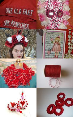Gifts of Red by Donna Zuk on Etsy--Pinned with TreasuryPin.com