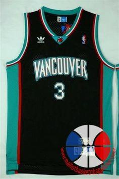 39978ef8c2cb0 maillot basket nba Memphis Grizzlies Abour-Rahim #3 retro Noir nouveaux tiss
