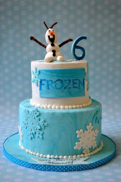 Frozen cake! https://www.facebook.com/alittlecakeshop