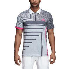 ff453b887517 adidas Men s Abstract Tennis Polo