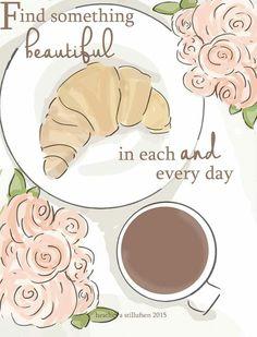 Croissant & Coffee ♡
