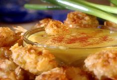 Chicken Nuggets with Honey Mustard Dipping Sauce from FoodNetwork.com