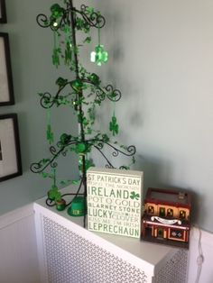 Wrought iron tree to redecorate for each season/holiday!