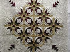 mexican star quilt pattern | Another Mexican Star - I still do not have mine quilted....