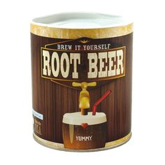 Brew your own root beer at home! Make up to two gallons of delicious, old fashioned, naturally carbonated root beer at home in your own soda bottles! Made in the USA.