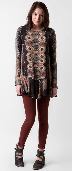 Free People Printed Tunic Top - Women's Tops | Buckle
