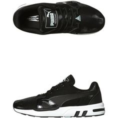 Puma Xt S Womens Sneaker ($84) ❤ liked on Polyvore featuring shoes, sneakers, black fair aqua, lightweight sneakers, puma sneakers, puma shoes, lace shoes and light weight shoes