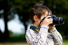 Teaching photography to a 5-year-old