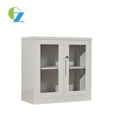 Half height glass door metal cabinet Steel Cupboard, Glass Door, Bathroom Medicine Cabinet, Locker Storage, Metal, Furniture, Design, Home Decor, Steel Wardrobe