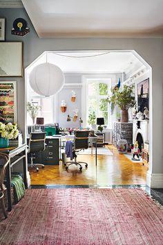 Design Hub - блог о дизайне интерьера и архитектуре: Квартира с богемным интерьером в Нью-Йорке