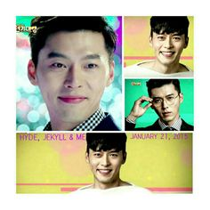 Hyun Bin's new drama Hyde, Jekyll, Me premieres January Song Hye Kyo, Hyun Bin, Hyde Jekyll Me, Han Ji Min, January 21, Korean Drama, Dramas, The Man, Falling In Love