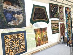Exhibits - International Quilt Festival in Suzdal