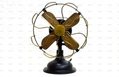 Retro Antique Style Fans Oscillating Table or Pedestal Floor Standing A household electric fan is a common appliance. Vintage Fans, Vintage Table, Vintage Items, Art Antique, Antique Brass, Decorating Coffee Tables, Save Energy, Sailor, Home Appliances