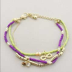 Infinity Multistrand Bracelet - $20  threadflip.com