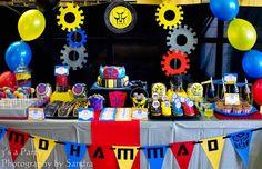 Encontrando Ideias: Festa Transformers!!