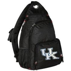 #designer handbags University of Kentucky Sling Backpack UK Wildcats Logo One Strap Backpacks for Travel or School Bags - BEST QUALITY Unique Gifts For Boys, Girls, Adults, College Students, Men or Ladies (Apparel)