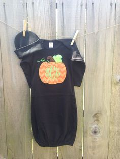 Personalized+Infant+/+Baby+gown+layette+by+SimplyAdorableGifts,+$28.00