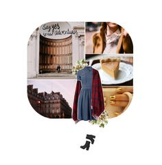 """""""University Days, 2"""" by stag-beetle ❤ liked on Polyvore featuring Chicnova Fashion and Monki"""
