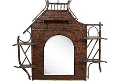 19th-C. English Mirror on OneKingsLane.com From The Barn at 17 Antiques in Boston.   Quintessential Victoriana.