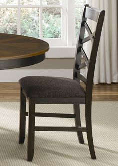 Bistro II Dining Double X Back Side Chair (Set of 2) (74-C3001S)   Liberty