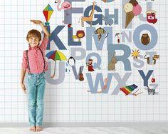 Carta da parati LONDONART | Collezione KIDS | William