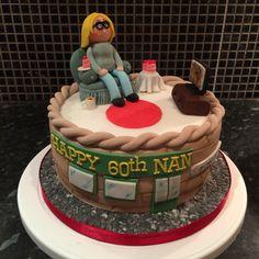 Coronation street cake