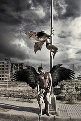 angel y demonio (JORGE LEAL G.) Tags: angel photoshop wing alas demons demonio