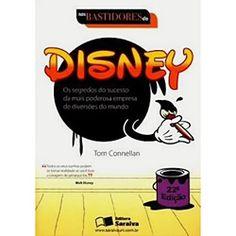 Livro - Nos Bastidores da Disney