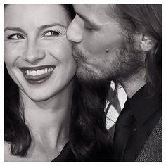 Cat and Sam cheek my kiss