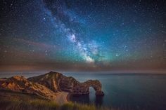 Dorset is a county with no cities and no motorways, so the night skies are perfect for stargazers.