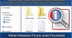 View Hidden Files and Folders In Windows 7 Step by Step Guide With Pics Hide Folder, Computer Problems, Android Hacks, Step Guide, Windows 10, Picture Video, Tech, Tecnologia