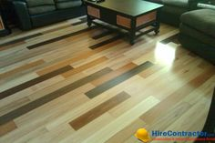 Wooden floors enhance the decor of any room in your house. Hire Best Contractors at www.HireContractor.com