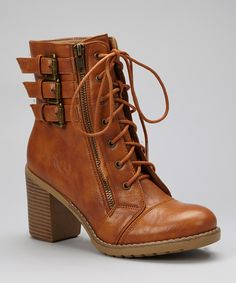 Loving this Bumper Camel Hudson Ankle Boot on #zulily! #zulilyfinds