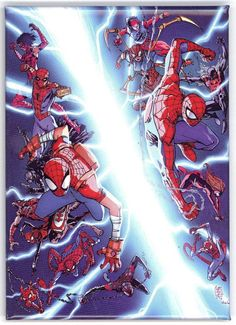 Spider-Verse #1 Comic Book Cover Magnet.  Spider-Ham, Spider-Man, Miles Morales Miles Morales, Spider Verse, Fan Fiction, Comic Book, Ham, Spiderman, Magnets, Universe, Cover
