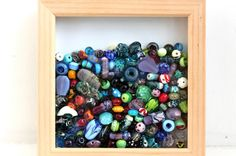 Beadscrumptious Blog - Different ways to use your lampwork beads. April.  www.beadscrumptious.co.uk  #lampworkbeads