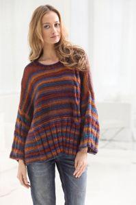 Knit Kimono Sleeve Pullover