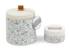 Amazon.com: Paddywax Botany Collection Ceramic Soy Wax Candle, Earth & Sweetwater: Home & Kitchen