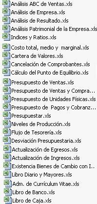 Pack Excel para contadores (Descarga estas plantillas Gratis)