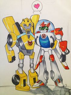 Rescue Bots by RendezvousRev on DeviantArt