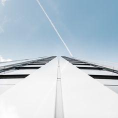 Minimalist Blue Architectural Photographs