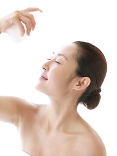 """""""To improve skin's dryness within seconds, use a hydrating spray for instant nourishment,"""" advises Lisa Vela, lead aesthetician at NYC's AmorePacific Spa. """"It will revive the look of tired mugs, plus you don't need to fuss about looking in the mirror. This is an especially great trick for the plane."""""""