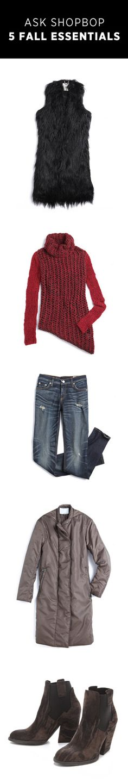 Ask Shopbop: 5 Fall Essentials