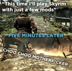 How many of us have crashed Skyrim because of that?